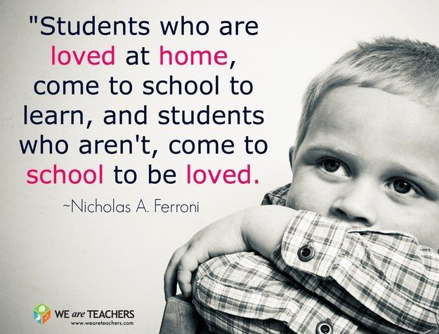 #truth #children #love I believe anyone who goes into teaching should love children and show them you are there to support, guide and love them