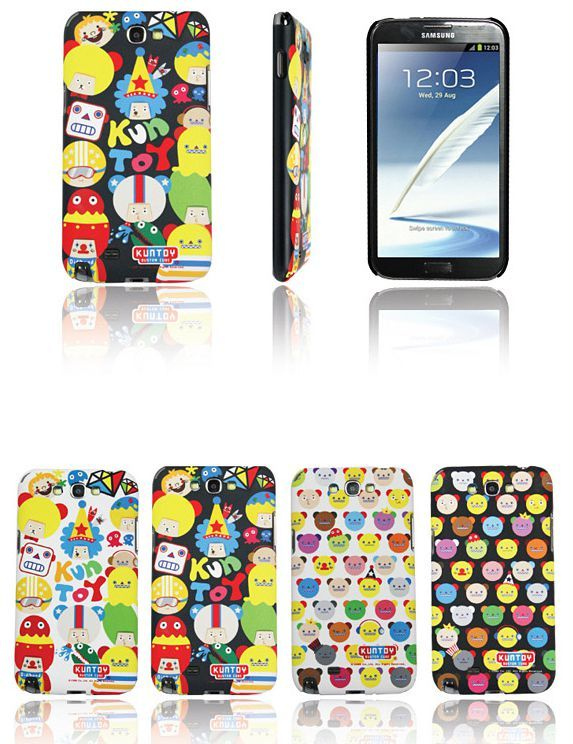 Kuntoy Buster Cube Smartphone Hard Case for Galaxy Note 3