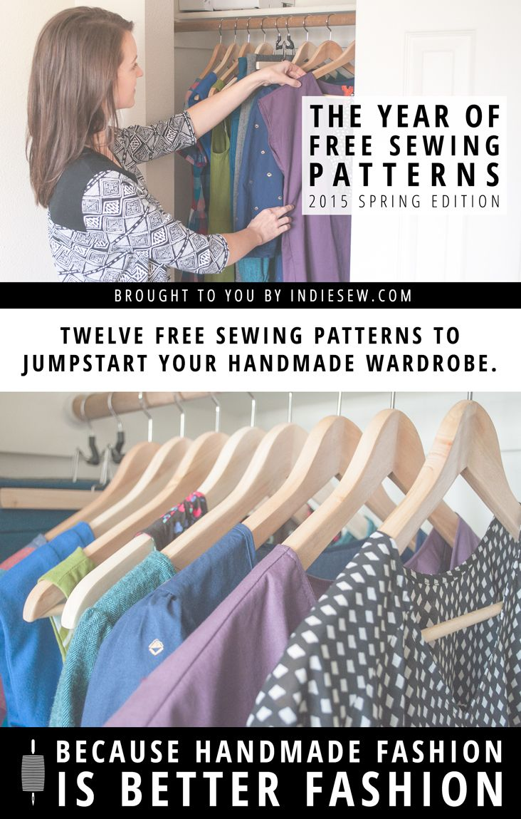 Free Sewing Patterns for a Year. Enter to Win Today! | Enter at Indiesew.com
