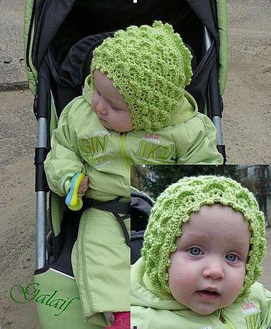 Uncinetto d'oro: cappello per bimbi