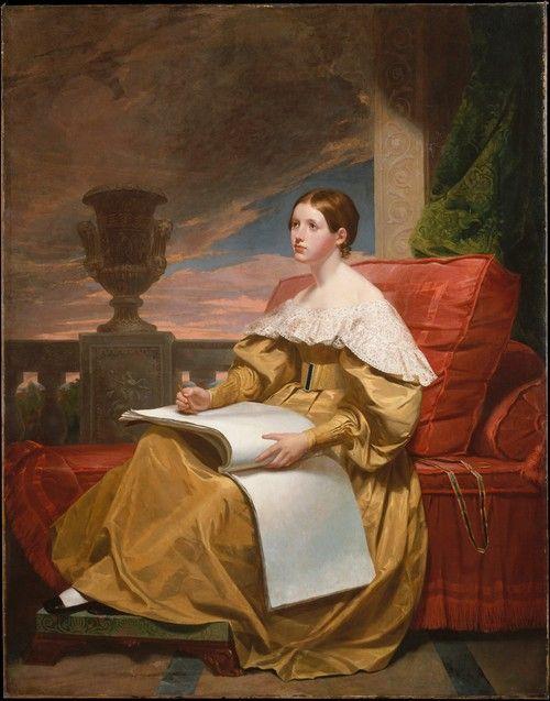 Susan Walker Morse (The Muse) by Samuel Morse, 1836-37 US, the Met Museum