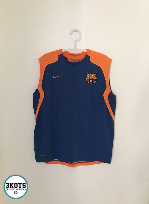 3989ec42d11 BARCELONA FC 2008 09 Training Football Vest Shirt (L) Soccer Jersey NIKE  Vintage  NIKE  Jerseys  BarcelonaFC  FCBarcelona  FCB  Footballshirts   ...