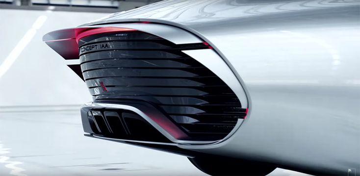 mercedes ev concept paris motorshow designboom