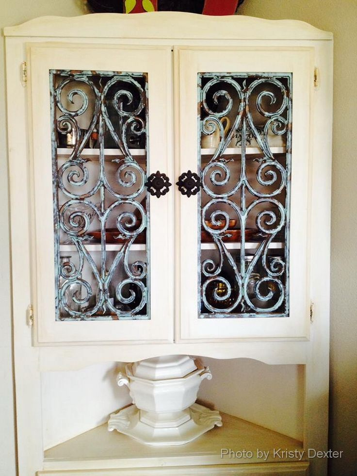 7 Best Faux Iron Cabinet Door Inserts Images On Pinterest