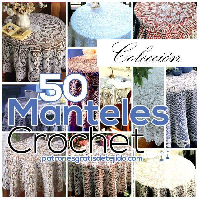 17 best images about manteles a crochet on pinterest - Manteles para navidad ...