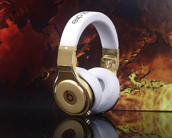 Beats By dr.dre new Luxury Pro headphones-white $399.95  $229.98