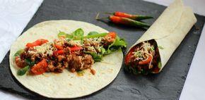 Burritos contra tacos: 10 recetas que dividirán tu corazón: burrito de carne picada.