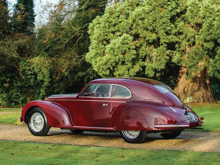 Reportedly Mussoulini's mistress's 1939 Alfa Romeo 6C2500 Sport Berlinetta by Touring for sale on Hemmings.com.