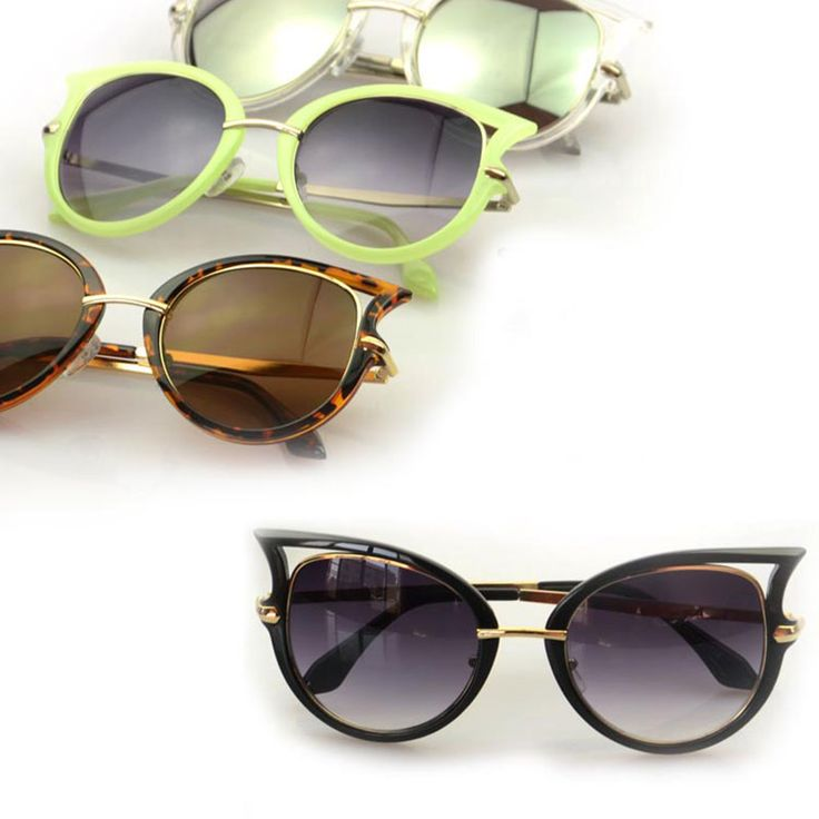 $7.56 (Buy here: https://alitems.com/g/1e8d114494ebda23ff8b16525dc3e8/?i=5&ulp=https%3A%2F%2Fwww.aliexpress.com%2Fitem%2F4-Colors-Star-Style-Cat-Eye-Frame-Coating-Glasses-2015-New-Vintage-Fashion-Summer-Sunglasses-Women%2F32258672795.html ) 5 Colors Star Style Cat Eye Frame Coating Glasses Hot New Vintage Fashion Summer Sunglasses Women Brand Designer oculos de sol for just $7.56