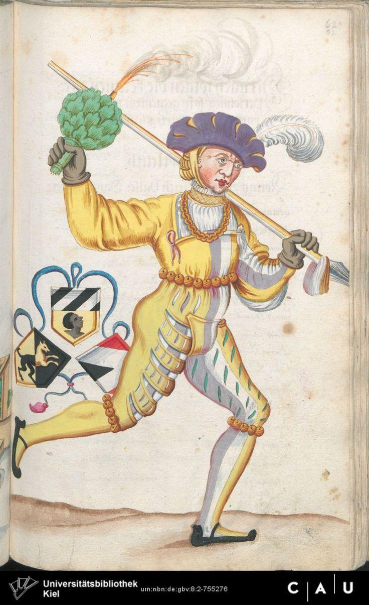Nürnberger Schembart-Buch Erscheinungsjahr: 16XX  Cod. ms. KB 395  Folio 164