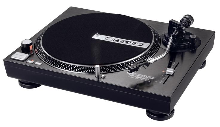 Gramofon Reloop RP2000 stylowe granie w bardzo eleganckiej formie.