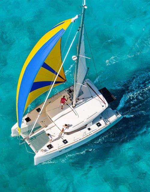 Catamaran yacht charter Aegean Sea - Greece. http://www.aegean-catamarans.com/catamarans-for-charter/lagoon-39/