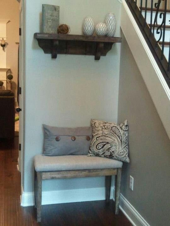 25 best ideas about small entryway bench on pinterest for Small entry door