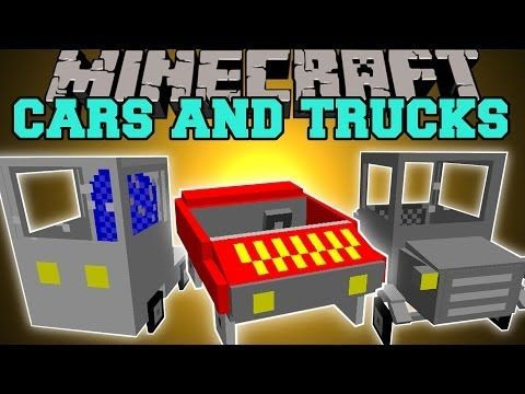 """Minecraft Flans mod - Too many cars! """"Poker's garage content pack"""" (1.4.7) - YouTube"""