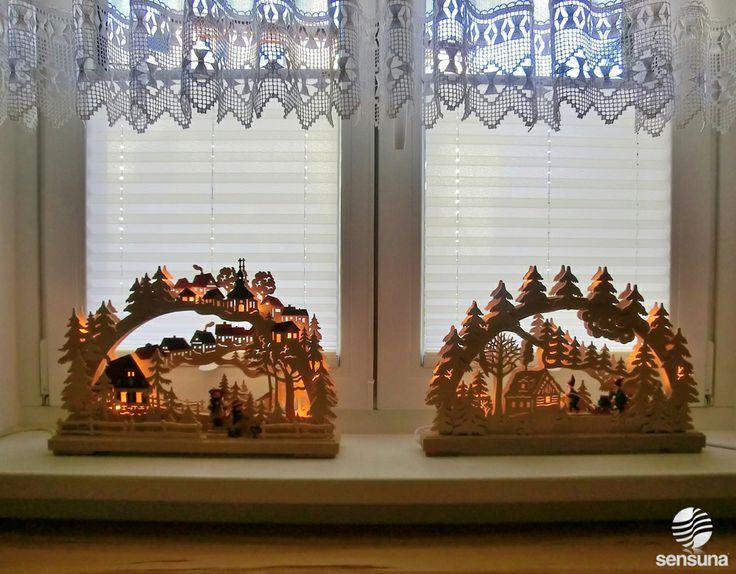 Perfect Fensterdeko mit Plissee Gardinen Plissee GardinenSichtschutzWohnzimmer