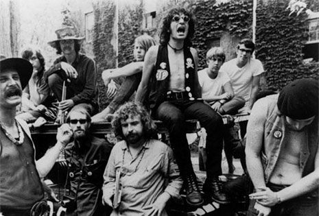 In the late 1960s David Peel and the Lower East Side regularly performed in Parks and at Hippie gatherings.
