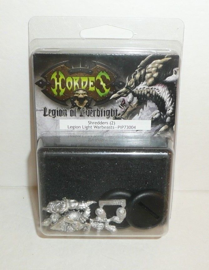 Shredders (2) - PIP 73004 Hordes Legion of Everblight Troops Metal Game Figures #PrivateerPress