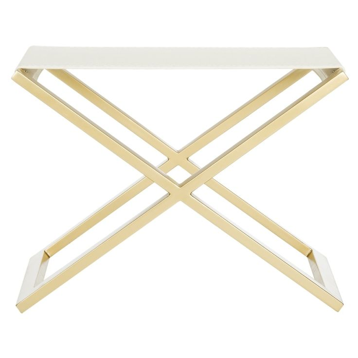 Safavieh Modern Glam Reem White/ Crocodile Bench - Free Shipping Today - Overstock.com - 18372845 - Mobile