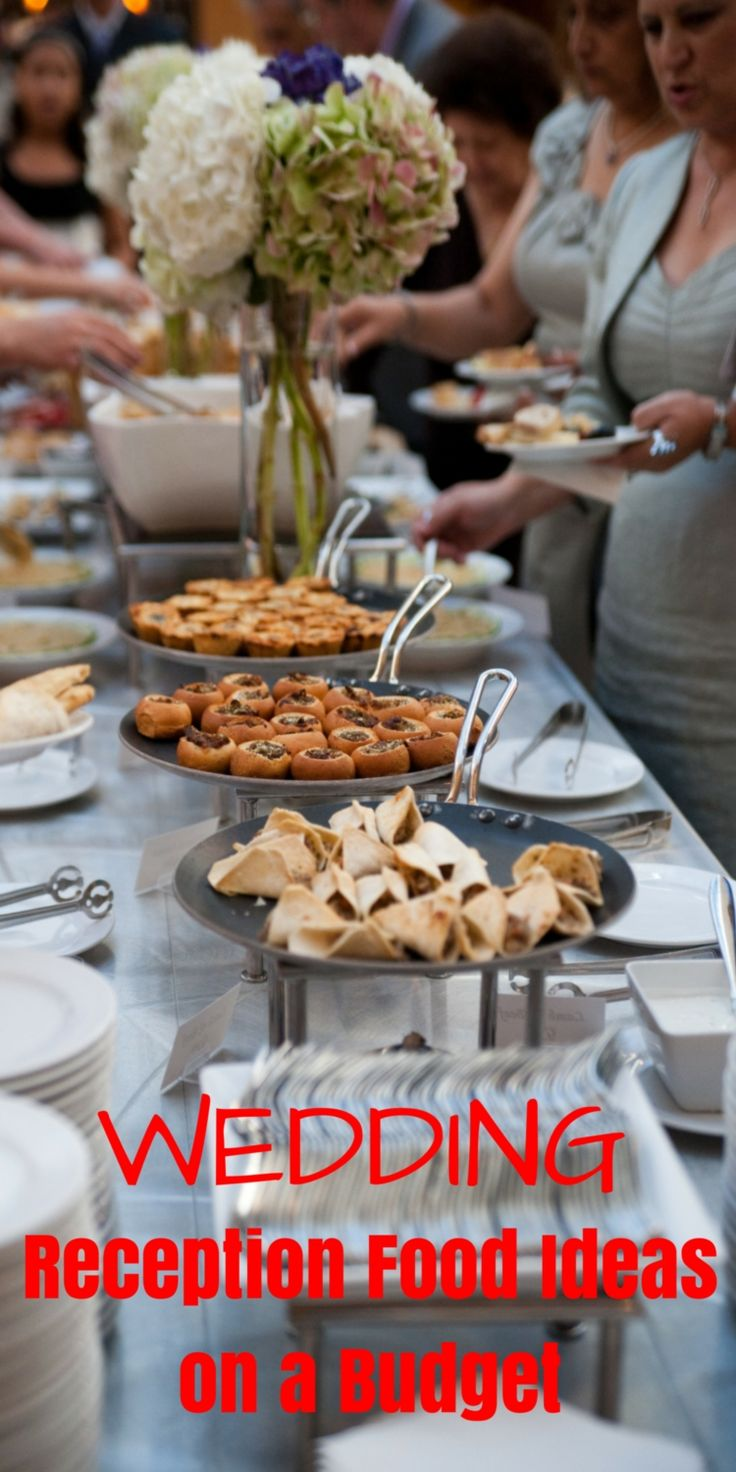 Well, for you who will hold a wedding reception in the near future, here we present some wedding reception food ideas on a budget and modern favorite food which is usually served at the reception.
