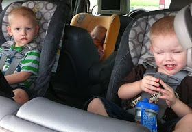 CarseatNanny: Is rear facing safe when you're rear ended?