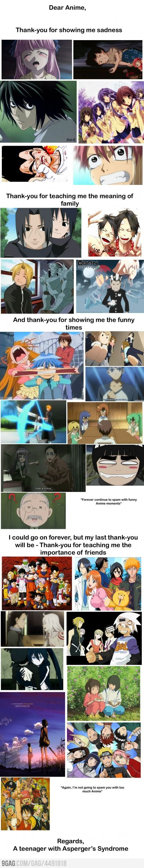 True Anime Story, this made me smile :)