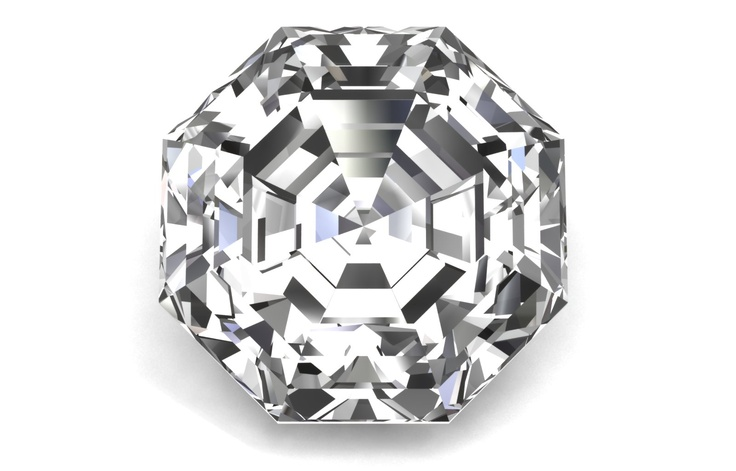 Octagon Cut @bensimondiamond #giveadiamond