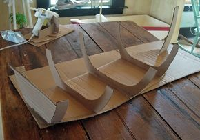 cardboard boat directions (I'm planning on making a boat to hold our Mission items)