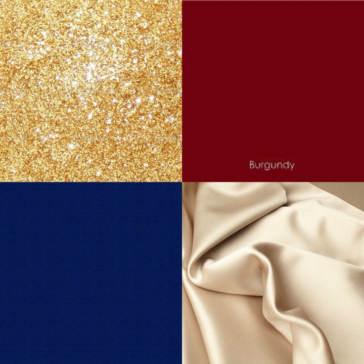 Burgundy, navy, gold, champagne wedding colors