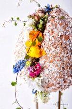 Pokaz florystycznym Kwitnąca Wielkanoc (hurtownia Rekpol). Autor Monika Bębenek, fot. Marcin Chruściel