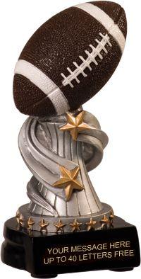 Football Encore Resin Trophy