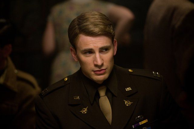 Chris Evans (You wouldn't believe how hard it is to find a picture with his shirt on!)