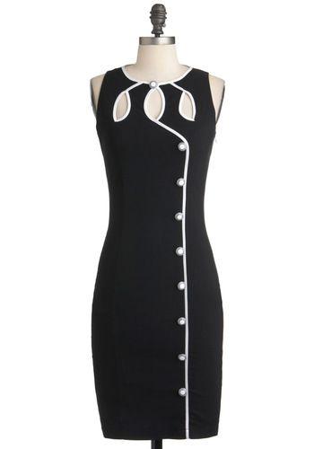 Swell-Heeled Dress, #ModCloth