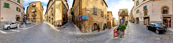 Many streets in Orvieto