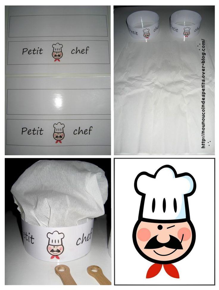 """.. Chandeleur .."""" Toque du petit chef """""""