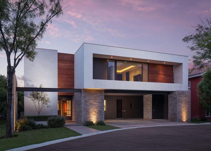M s de 25 ideas fant sticas sobre fachadas contemporaneas for Arquitectura moderna minimalista