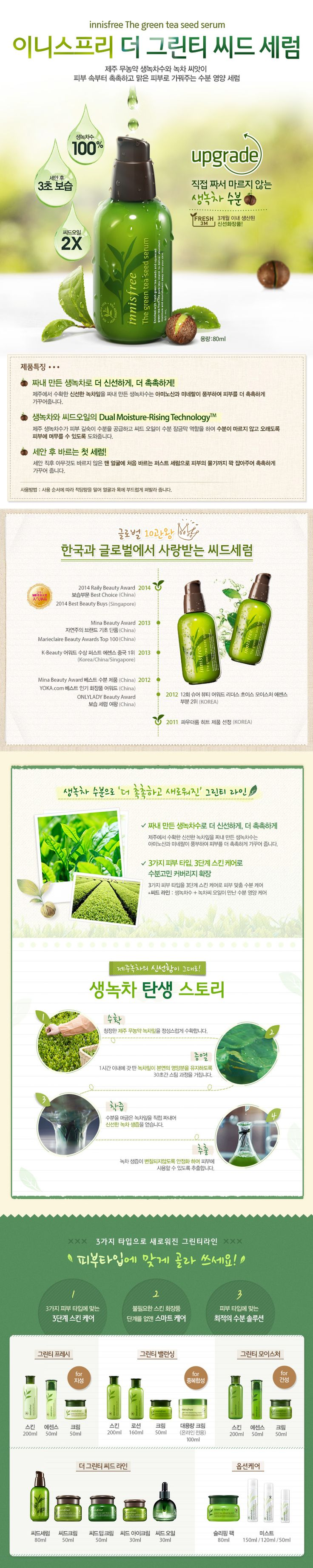 Natural benefit from Jeju, innisfree