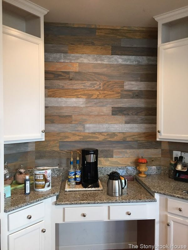 The Very Cheap Plank Wall For The Home Pinterest Planked Walls Plank And Walls