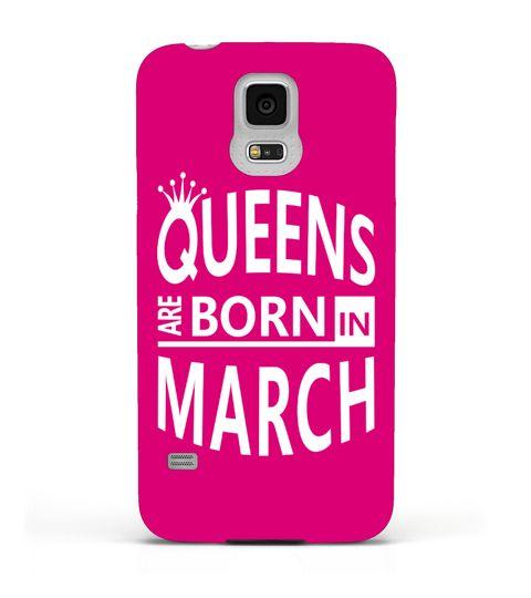 March Born Women Samsung/iPhone Case.