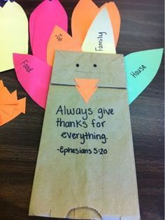 Thanksgiving Crafts for Preschool - Pre-K Kids to Make - Sunday School Thanksgiving Craft Ideas for Church Preschool and Pre-k aged children