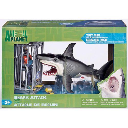 Shark Toys For Boys : Nib animal planet deep sea shark playset free shipping