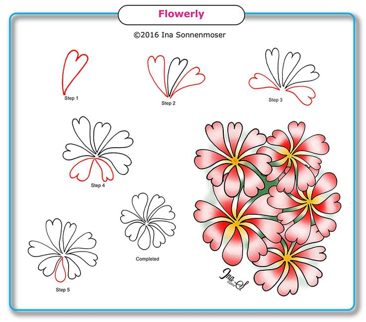 How To Draw Flowerly