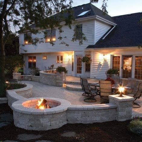 Backyard dream | My Pipe-Dream Home | Pinterest on My Dream Patio id=68271