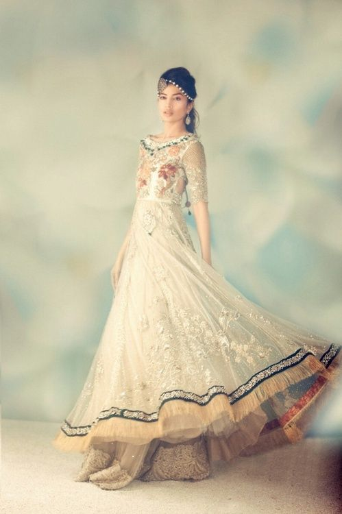 Gorgeous Anarkali from Elan by  @khadijah_shah http://www.facebook.com/elanonline ~