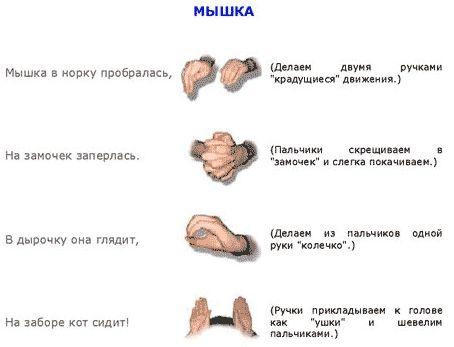 креативные пальчиковые игры - Поиск в Google