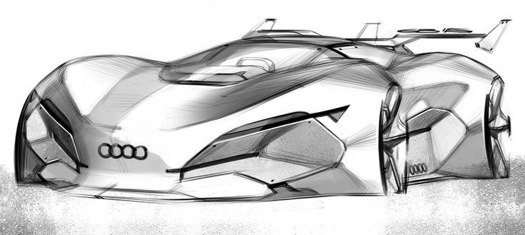 Car design sketches #7 on Behance