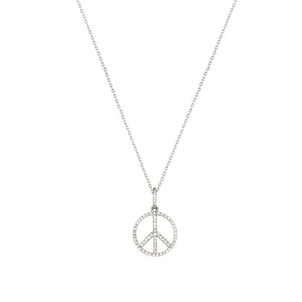 "Sophie Gyllenhammar ""Peace pendant"" halsband - Nyinkommet www.stockholmmarket.com"