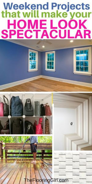 Weekend Projects That Will Make Your Home Look Spectacular Diy Homedecor Diyprojects Homeimprovement Hack