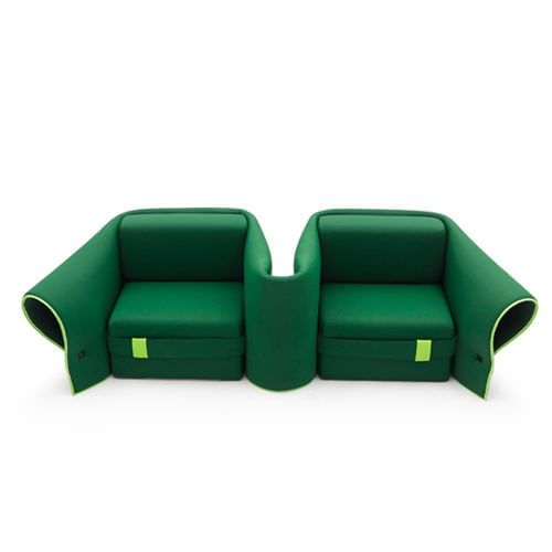 Awesome Modular Sofa / Original Design / Polyester / 2 Seater SOSIA By Emanuele  Magini Campeggi Pictures Gallery