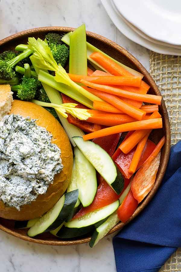 Original Ranch® Spinach Dip Recipe Video | Hidden Valley®