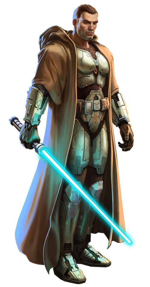 An Old Republic Jedi Knight